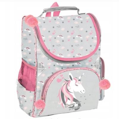 Školní batoh aktovka i pro prvňáčky Jednorožec Dream