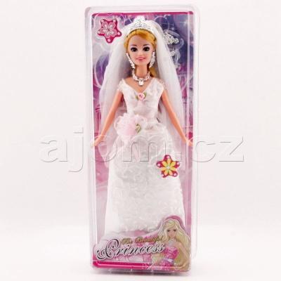 Panenka Princezna Nevěsta 30cm