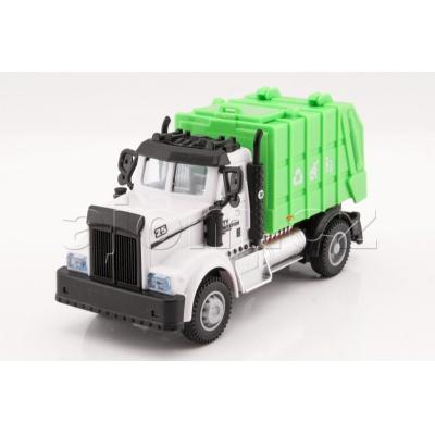 Auto Truck popeláři se světlem a zvukem