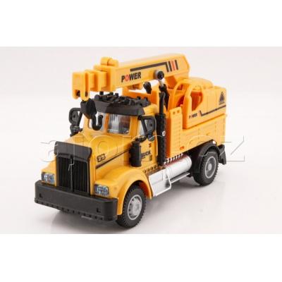 Auto Truck Jeřáb se světlem a zvukem