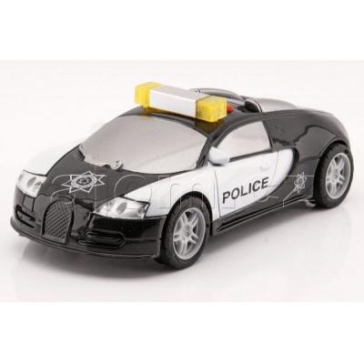 Policejní auto Bugatti Veyron světlo a zvuk