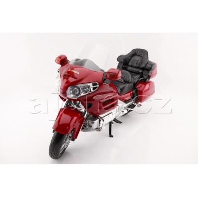 Kovový model motorka Honda Gold Wing MotorMax 1:6
