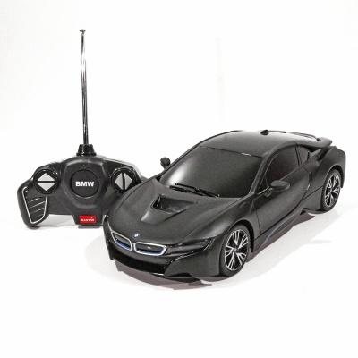 RC model BMW i8 auto na dálkové ovládání 1:18 černá