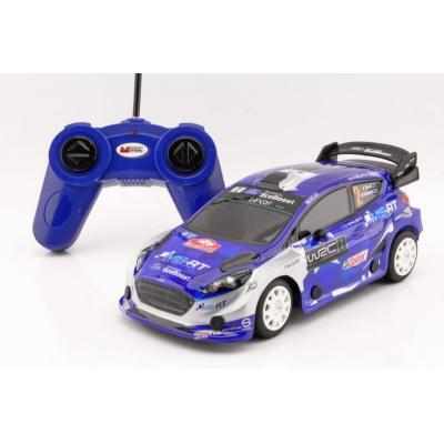 RC model Ford Fiesta WRC auto na dálkové ovládání 1:24 modrý