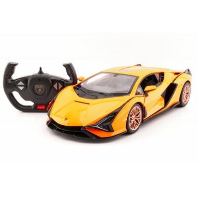 RC model Lamborghini Sián auto na dálkové ovládání 1:14 oranžová 2,4GHz