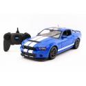 RC model Ford Shelby GT 500 auto na dálkové ovládání 1:14 modrá 2,4GHz