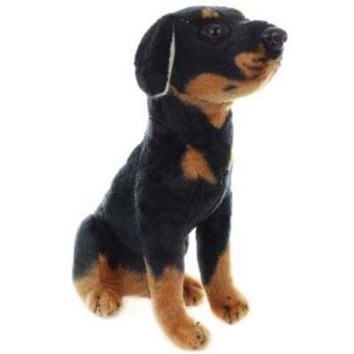 Plyšový Pes černý 24cm