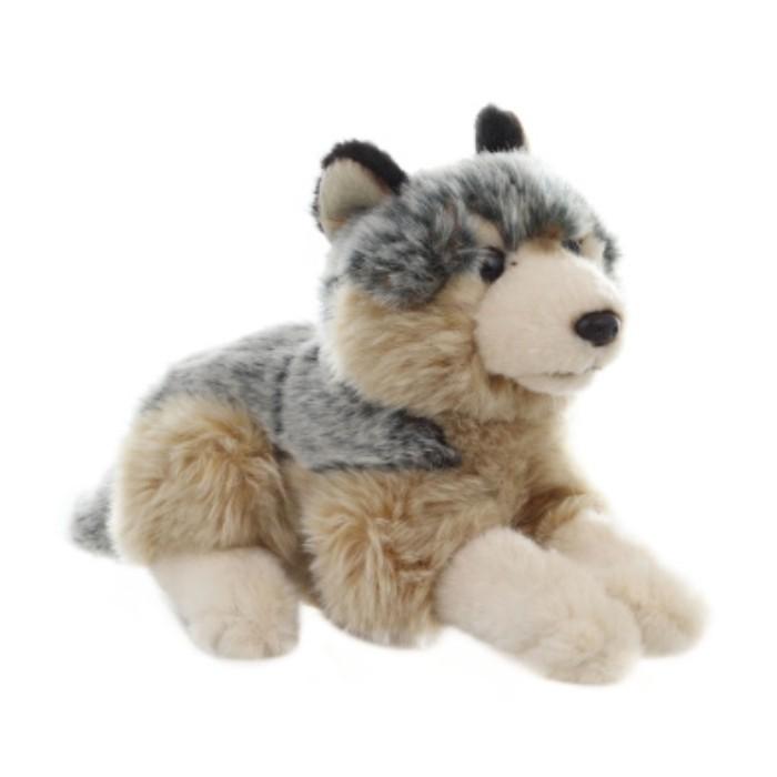 Plyšový Vlk ležící 22cm