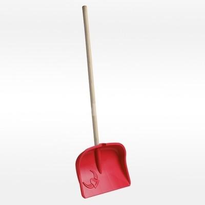 Dětská lopata na sníh Viking červená