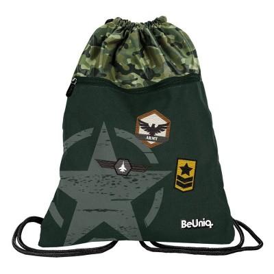Batoh pytel vak s přední kapsou Army
