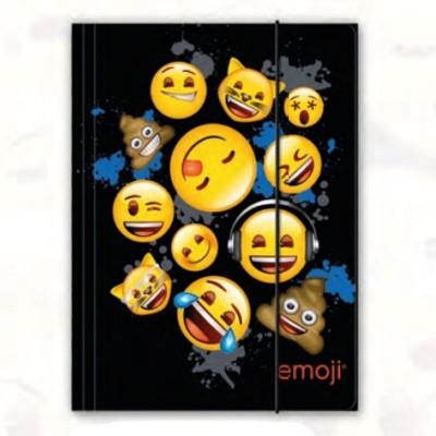 Desky s gumou složka na sešity A4 Emoji smajlíci