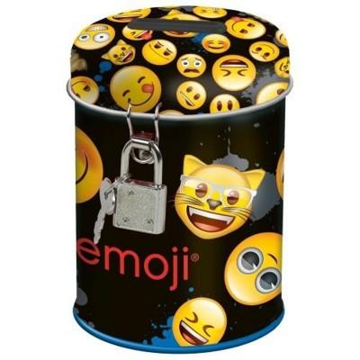 Kovová pokladnička kasička Emoji smajlíci