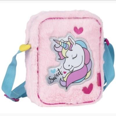 Plyšová kabelka Jednorožec