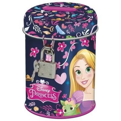 Kovová pokladnička kasička Princezny