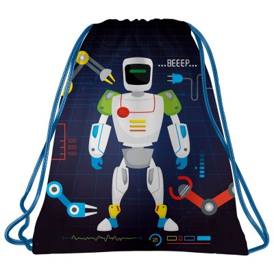 Školní pytel vak sáček Robot