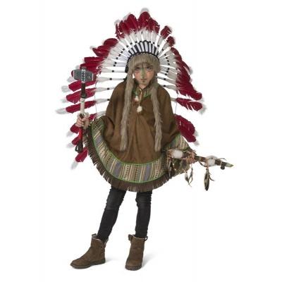 Dětský kostým Indiánské pončo