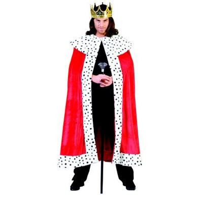 Karnevalový kostým Král plášť červený