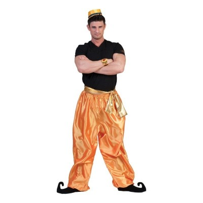 Pánský kostým Sultán kalhoty zlaté 48-50