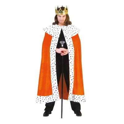 Karnevalový kostým Král plášť oranžový