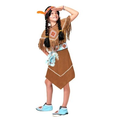Dětský kostým Indiánka Anila 128