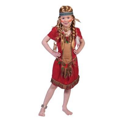 Dětský kostým Indiánka Pawnee 140