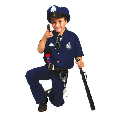 Dětský kostým Policista Bobby 164