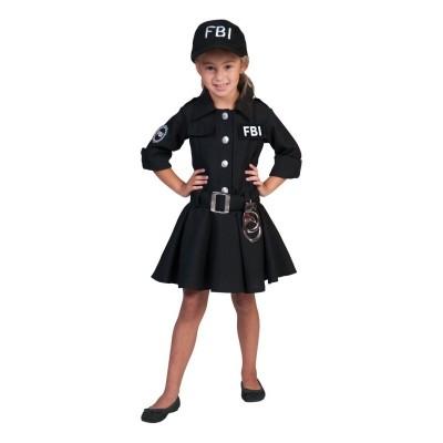 Dětský kostým Agentka FBI Dana 140