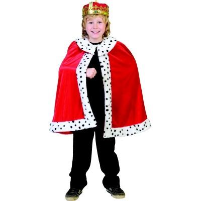Dětský kostým Královský plášť 140