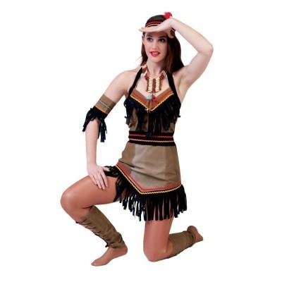Dámský kostým Indiánka Toba 44