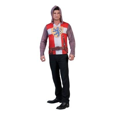 Pánský kostým 3D tričko rytíř 54