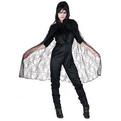 Kostým plášť z pavučin
