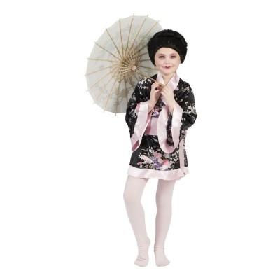 Dětský kostým Japonská dívka kimono 140