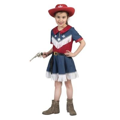 Dětský kostým Kovbojka Lucy 152
