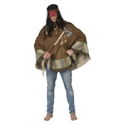 Pánský kostým Indián pončo
