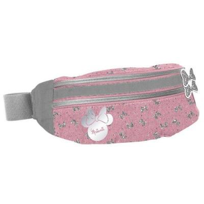 Ledvinka pouzdro na pas Minnie růžová