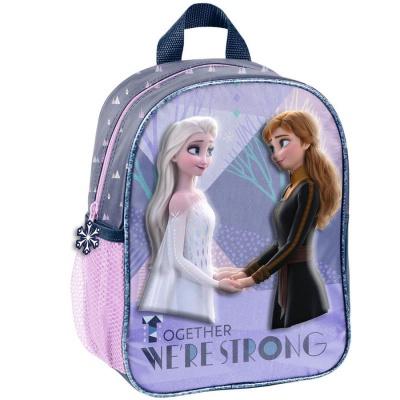 Dětský batoh malý 3D efekt Frozen 2 Ledové království Elsa Anna