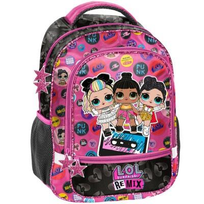 Školní batoh brašna Panenky LOL Surprise Remix
