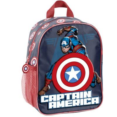 Dětský batoh malý 3D efekt Avengers Kapitán Amerika