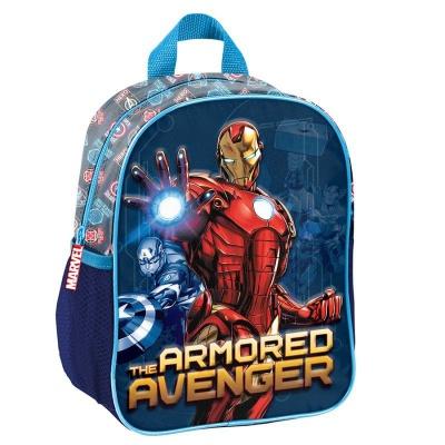 Dětský batoh malý 3D efekt Avengers IronMan