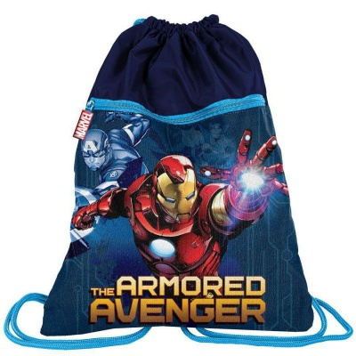 Batoh pytel vak s přední kapsou Avengers IronMan