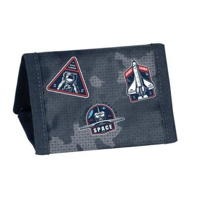 Textilní peněženka NASA rockets