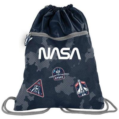 Batoh pytel vak s přední kapsou NASA rockets