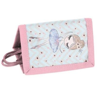 Textilní peněženka Baletka