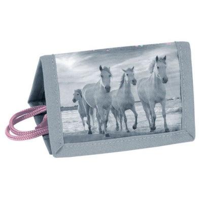 Textilní peněženka Koně