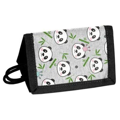 Textilní peněženka Panda