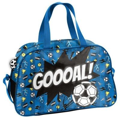 Dětská sportovní taška kabela Fotbal modrá