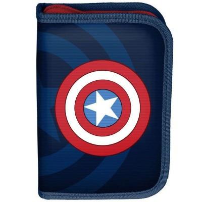 Školní pouzdro penál Avengers Kapitán Amerika