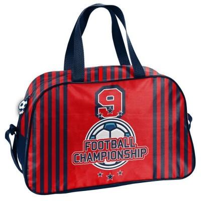 Dětská sportovní taška kabela Fotbal červená