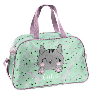 Dětská sportovní taška kabela Kočka Cutie