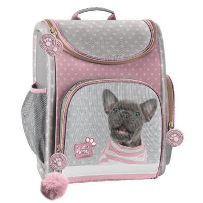 Luxusní školní batoh aktovka i pro prvňáčky Pes buldoček